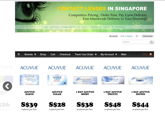 Contact Lenses In Singapore