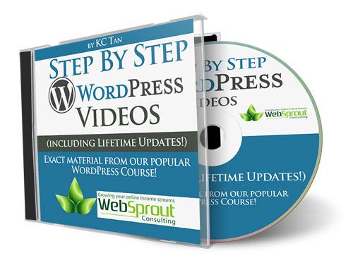 Step By Step WordPress Videos