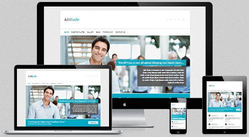 Free wordpress business themes free wordpress business themes 1 attitude theme attitude01 flashek Choice Image